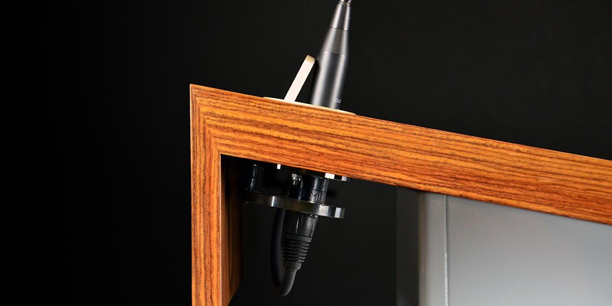 Accastillage et embase micro des pupitres Millecia pupitre en bois Haut de gamme