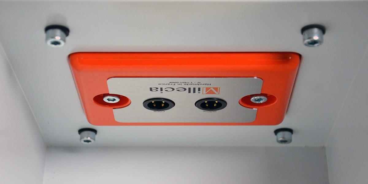 Interface de connexion Mi-Connect pupitre de conférence Millecia